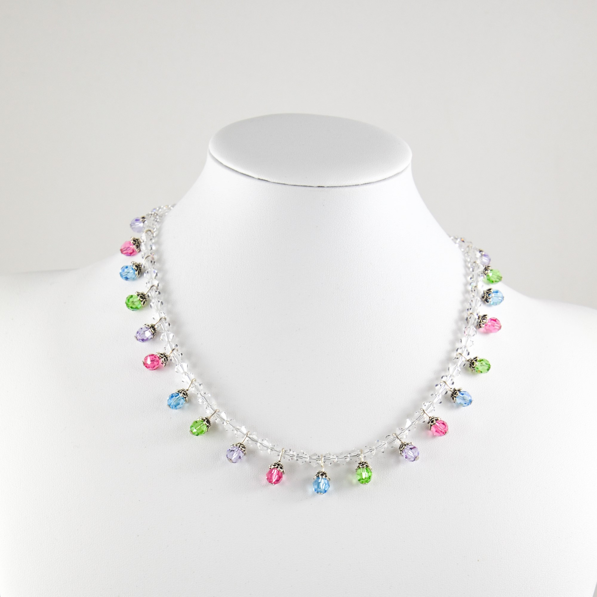 long love rose crystal products reversible swarovski gold necklace